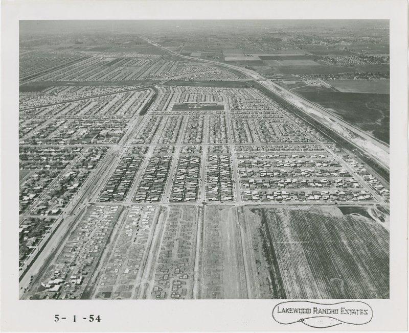 Cliff May: Lakewood Rancho Estates (Long Beach, Calif.)