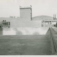 World War II Marine base and future site of the UC Santa Barbara campus: campus pool