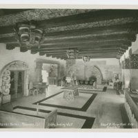 Aztec Hotel: Lobby looking west