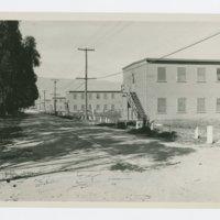 World War II Marine base and future site of the UC Santa Barbara campus: view of barracks