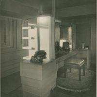 Rudolph Schindler: Barnsall house interiors (Los Angeles, Calif.)