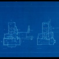 Rudolph Schindler: Barnsdall Director's House floor plans (Los Angeles, Calif.)