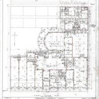 Aztec Hotel: First floor plan