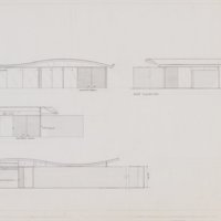 Miles C. Bates house: elevations
