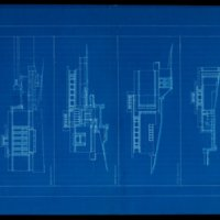 Rudolph Schindler: Barnsdall Director's House elevations (Los Angeles, Calif.)