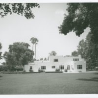 Irving J. Gill: Clarke house (Santa Fe Springs, Calif.)