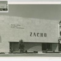 Kem Weber: Zacho's store (Los Angeles, Calif.)