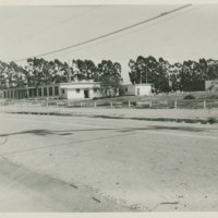 World War II Marine base and future site of the UC Santa Barbara campus: view of building 431