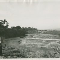 World War II Marine base and future site of the UC Santa Barbara campus: Goleta Slough