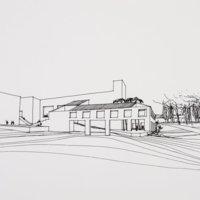 Faculty Club- early sketch