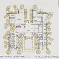 Student Health Center floor plan