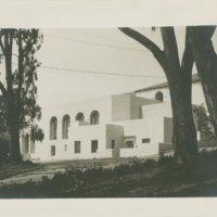 Santa Barbara State Teachers College -- Ebbets Hall southeast corner